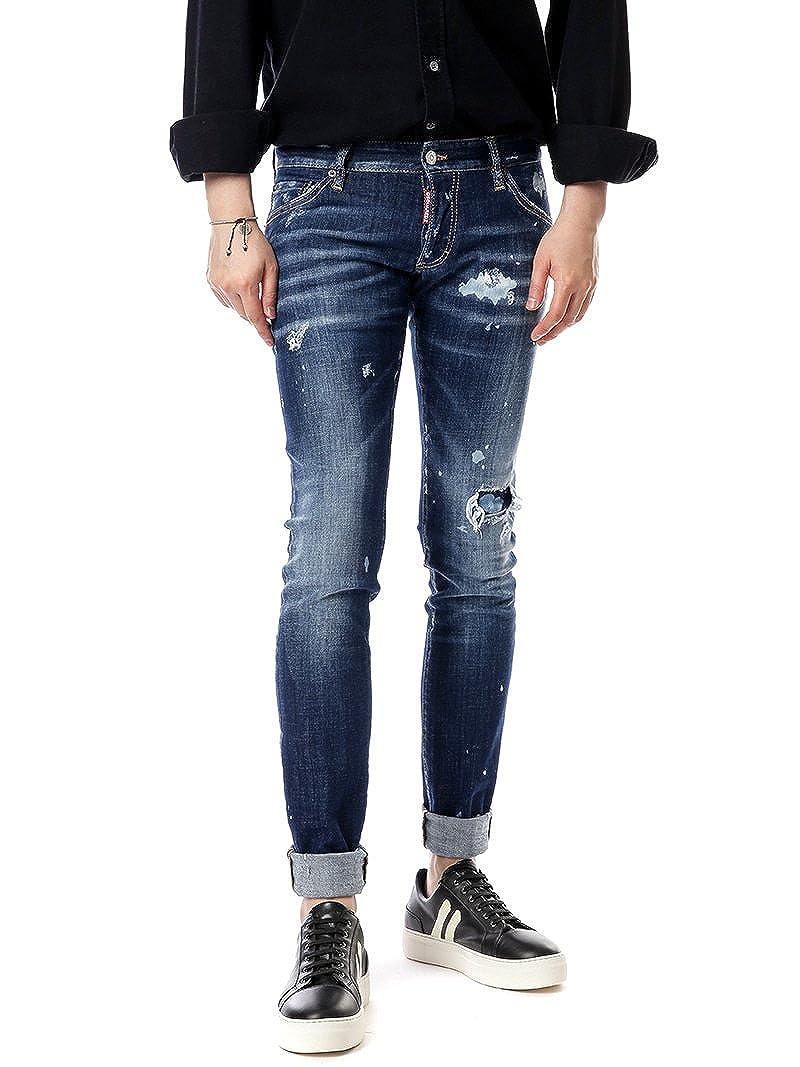 [ディースクエアード Dsquared2] 17FW LONG CLEMENT メンズ Jeans LB0266 S30342 470 kbb1130 [並行輸入品] B077TNTCV1 48
