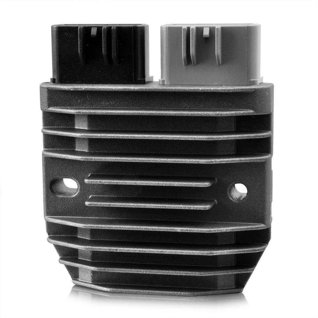 MZS Regulator Rectifier Voltage Compatible Yamaha YZF R1 02-14// FZ1 06-15// FZ8 11-13// FZ07 FZ09 14-16// FJ09 15-16// FJR1300 03-15// VMX1700 09-15// XTZ1200 13-15// Grizzly 550 09-14// Grizzly 700 08-15