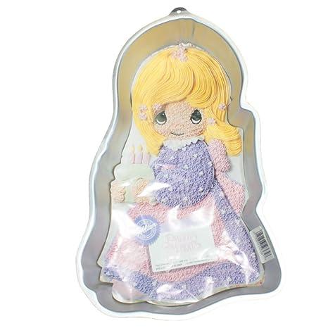 Wilton Precious Moments Girl Doll Dolly Cake Pan (2105-9365, 1993) Retired