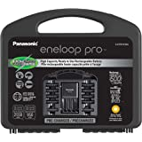Panasonic K-KJ55KHC86A Eneloop pro High Capacity Rechargeable Batteries Power Pack 8AA, 6AAA, 4 Hour Quick Battery…