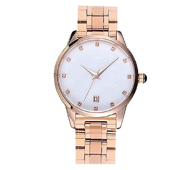 Reloj para mujer Tendencias de moda Impermeable Estudiante Ocio Atmósfera Moda Reloj para mujer: Amazon.es: Relojes