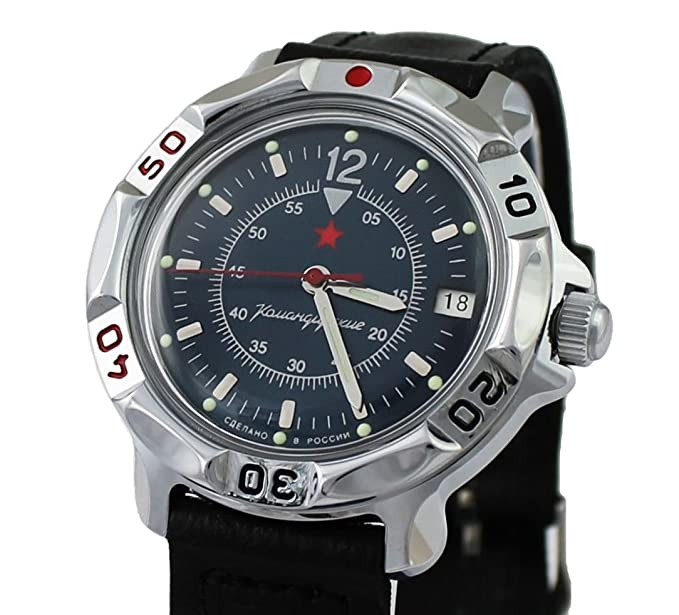 Vostok Komandirskie Militar Ruso Commander Reloj 2414/811398: Amazon.es: Relojes