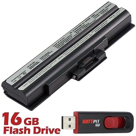 Battpit Recambio de Bateria para Ordenador Portátil Sony VAIO VGN-NS230E/S (4400