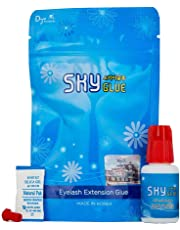 Strong Eyelash Extension Glue SKY S+ 5ml/ 1-2 Sec Drying Time / 7-8 Weeks Retention/Black Professional Eyelash Extension Adhesive/Lash Extension Supplies