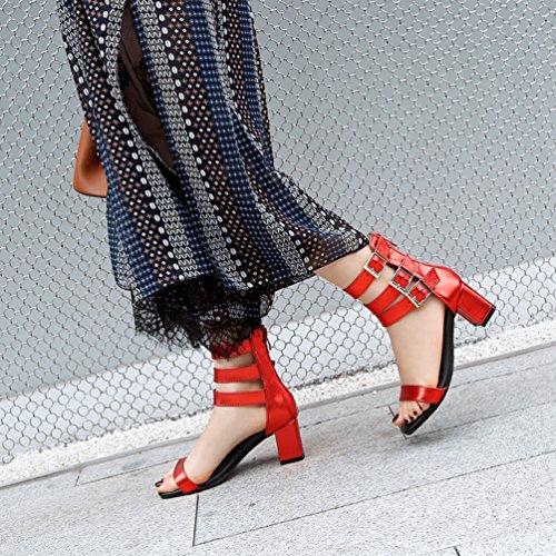 Jitian sandali Sabot Jitian Sabot Donna Rosso 60qPxB