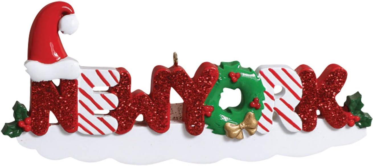 New York Gift New York Christmas Ornament Newlywed Ornament New Home Ornament Home Sweet Home Christmas Ornament New York