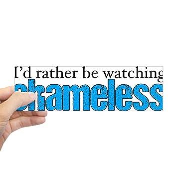 Cafepress shameless tv sticker bumper 10x3 rectangle bumper sticker