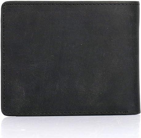 KARLA HANSON Mens RFID Blocking Leather Money Clip Wallet