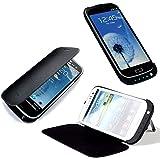 Vanda Funda Carcasa con Bateria Samsung Galaxy S3 i9300 - Power Pack Capacidad 2600 mAh - Powerbank Samsung Galaxy i9300 S3 Powercase-pistolera de la correa-negro