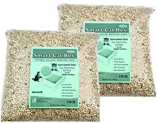 Smart Cat Box - Refill Litter - Safflower Seed - Buy 2 bags get 1 FREE (3-4LB Bags) No Refunds on Litter