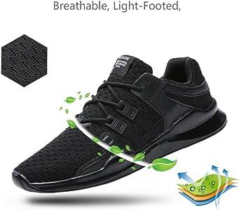 TUOKING Zapatillas de Deporte para Hombres Zapatos Deportivos