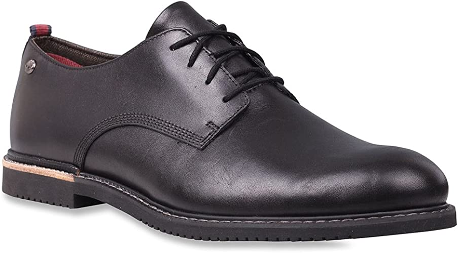 Timberland Earthkeepers Brook Park Mens Oxford Schuh Black Smooth UK10.5 EU45 US11
