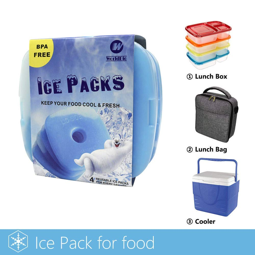 Reusable Cooler Ice Gel Water Pack Bag Cold Compress Novelty Bag Parts & Accessories