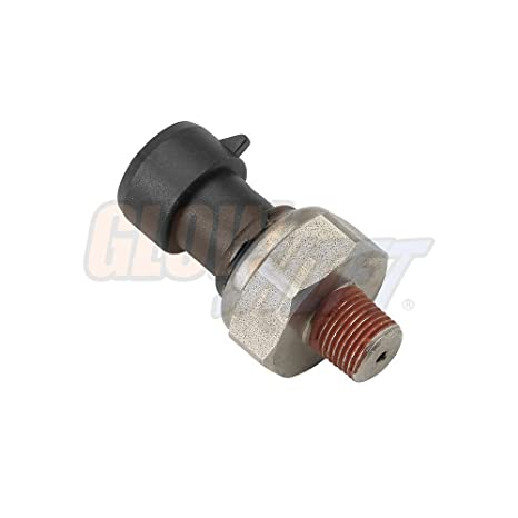 GlowShift Replacement 0-100 PSI Fuel Pressure, Oil Pressure & Exhaust  Pressure Gauge Sensor Sending Unit 1/8-27 NPT Thread
