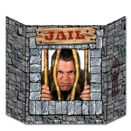 Beistle 57985 Jail Decorative Photo Prop, 3-Feet 1-Inch