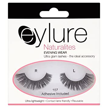 4a98e8e081d Amazon.com : Eylure Naturalites False Lashes - Evening Wear 107 (3) : Beauty