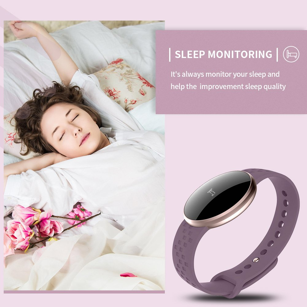 Smart Watch for Women iPhone Android Phone With bluetooth Heartrate Sleep Monitoring Remote Camera GPS Waterproof Auto Wake Screen