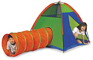 Pacific Play Tents Kids Hide Me Dome Tent and Crawl Tunnel Combo Blue / Green  sc 1 st  Amazon.com & Amazon.com: Pacific Play Tents Kids Hide Me Dome Tent and Crawl ...