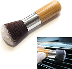 S28esong 3 Pcs Soft Detailing Brushes for Car Cleaning Vents,Auto Detail Brush Car Dash Duster Brush for Dashboard, Interior, Exterior