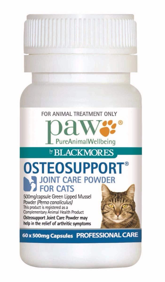 Paw Blackmores Osteosupport Cat Capsules