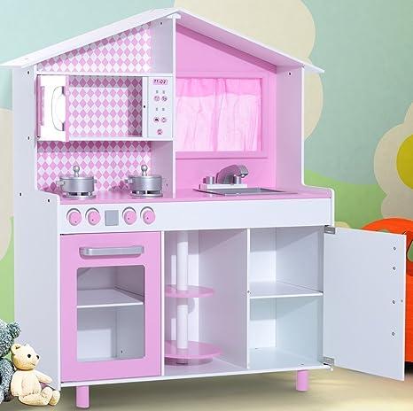 TZ-d1083 grande cucina per bambini con Teatro Gioco da cucina in ...