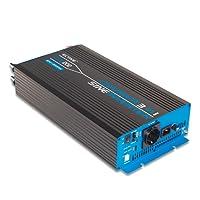 ECTIVE 2000W 12V zu 230V CSI-Serie reiner Sinus Wechselrichter mit Batterie Ladegerät und NVS in 7 Varianten: 300W - 3000W