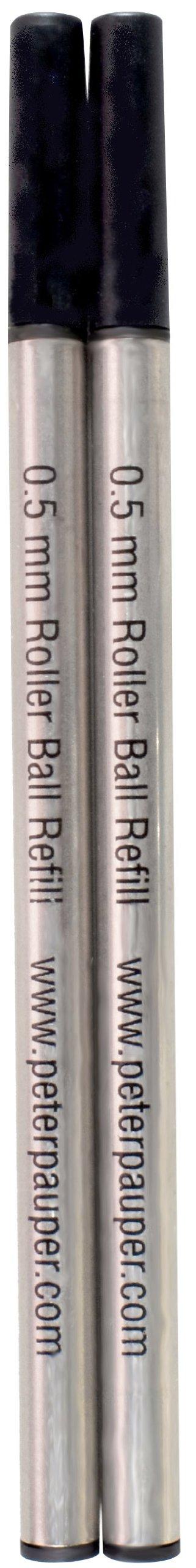 Roller Ball Pen Refill (2-Pack) (Rollerball Pen) (Designer Pens) by Peter Pauper Press (Image #2)
