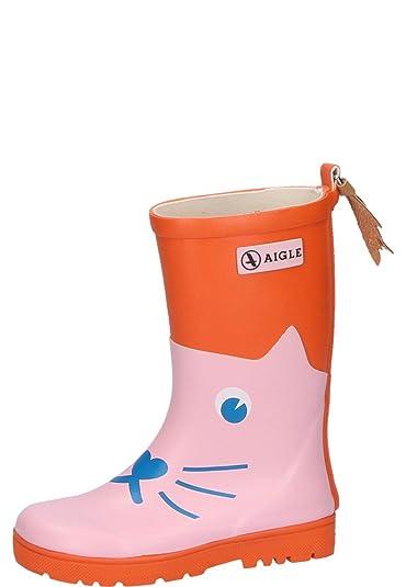 on sale ad7f4 0753b Aigle Kindergummistiefel Woody Pop Fun Chat: Amazon.de ...