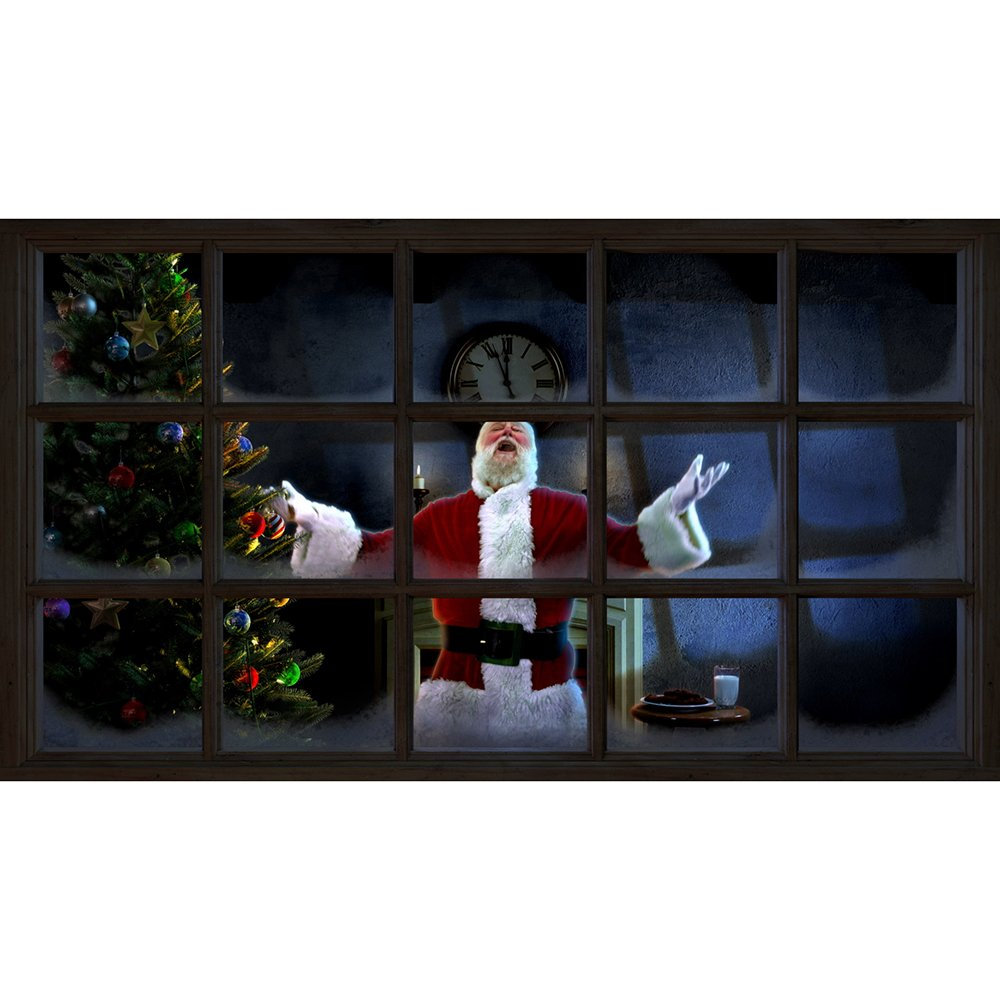 AtmosFear FX Night Before Christmas on SD Card and High Resolution Fabric Rear Projection Screen