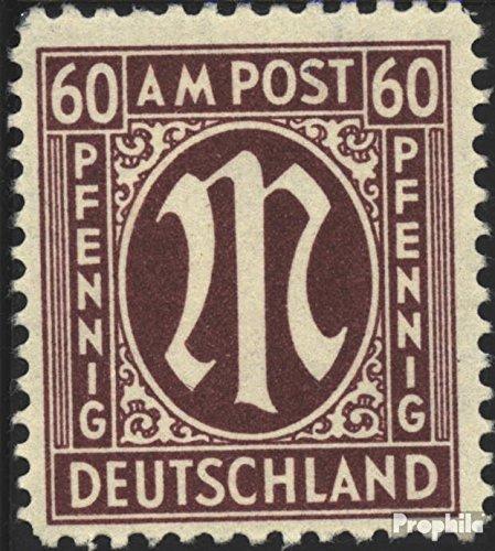 Prophila Collection Bizone (Alliierte Besetzung) 33a D geprüft, gezähnt 11,5 1945 AM-Post (Briefmarken für Sammler)