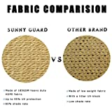 SUNNY GUARD 12' x 12' x 12' Sand Triangle Sun Shade