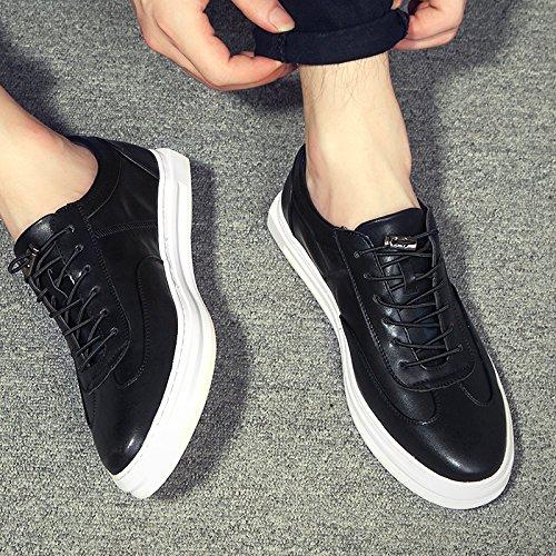 Gå Tour Prestanda Mens Dagliga Mode Sneaker Svart