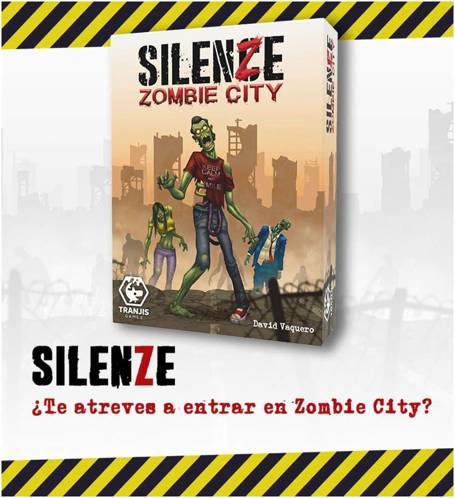 Tranjis Game SILENZE Zombie City - Juego de Cartas: Amazon.es ...