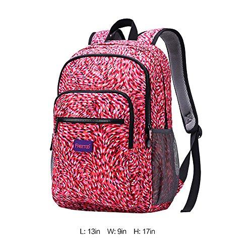 Laptop Backpacks Freetoo Lightweight Students School Bag Laptop ...