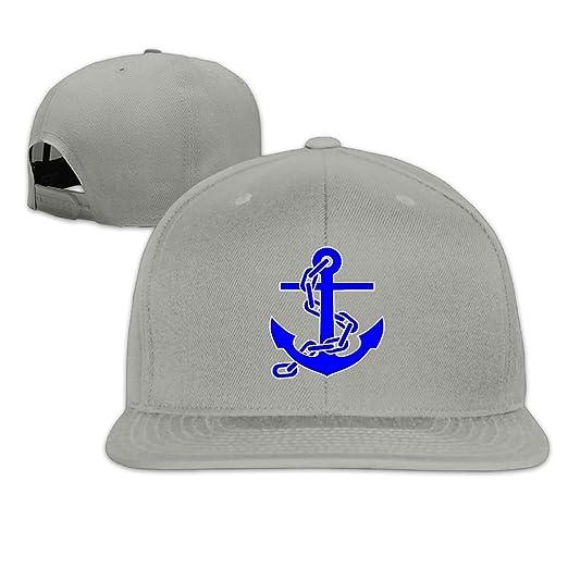 KIOJIANM Nautical Anchor Classic Cool Baseball Caps For Women Snapback Hat  Snapback Outdoor 60adce9d1bc