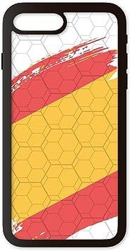 PHONECASES3D Funda móvil Compatible con iPhone 7 Plus/Compatible con iPhone 8 Plus España Bandera. Carcasa de TPU de Alta protección. Funda Antideslizante, Anti choques y caídas.: Amazon.es: Electrónica