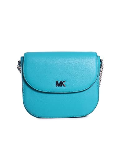 7cc0463f02f5 Women's Accessories Michael Kors Half Dome Tile Blue Crossbody Spring  Summer 2018