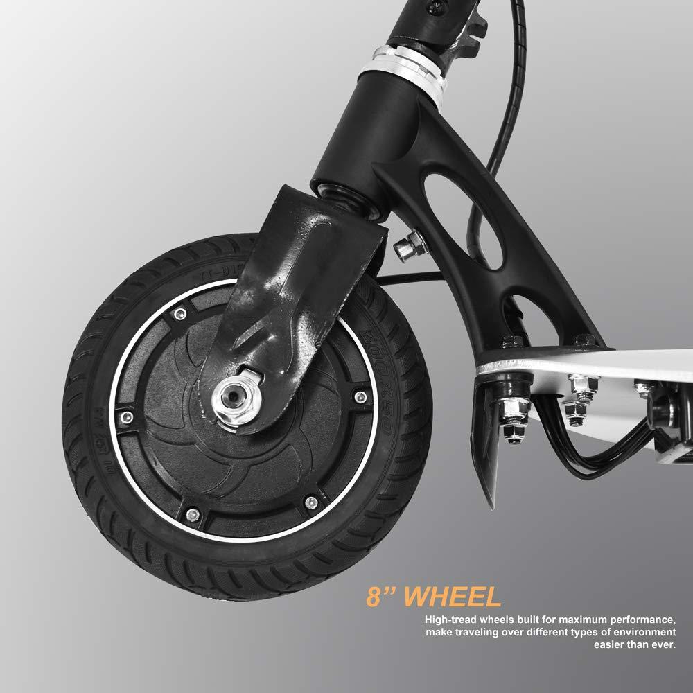 Amazon.com: TechClic - Patinete eléctrico plegable de 3 ...