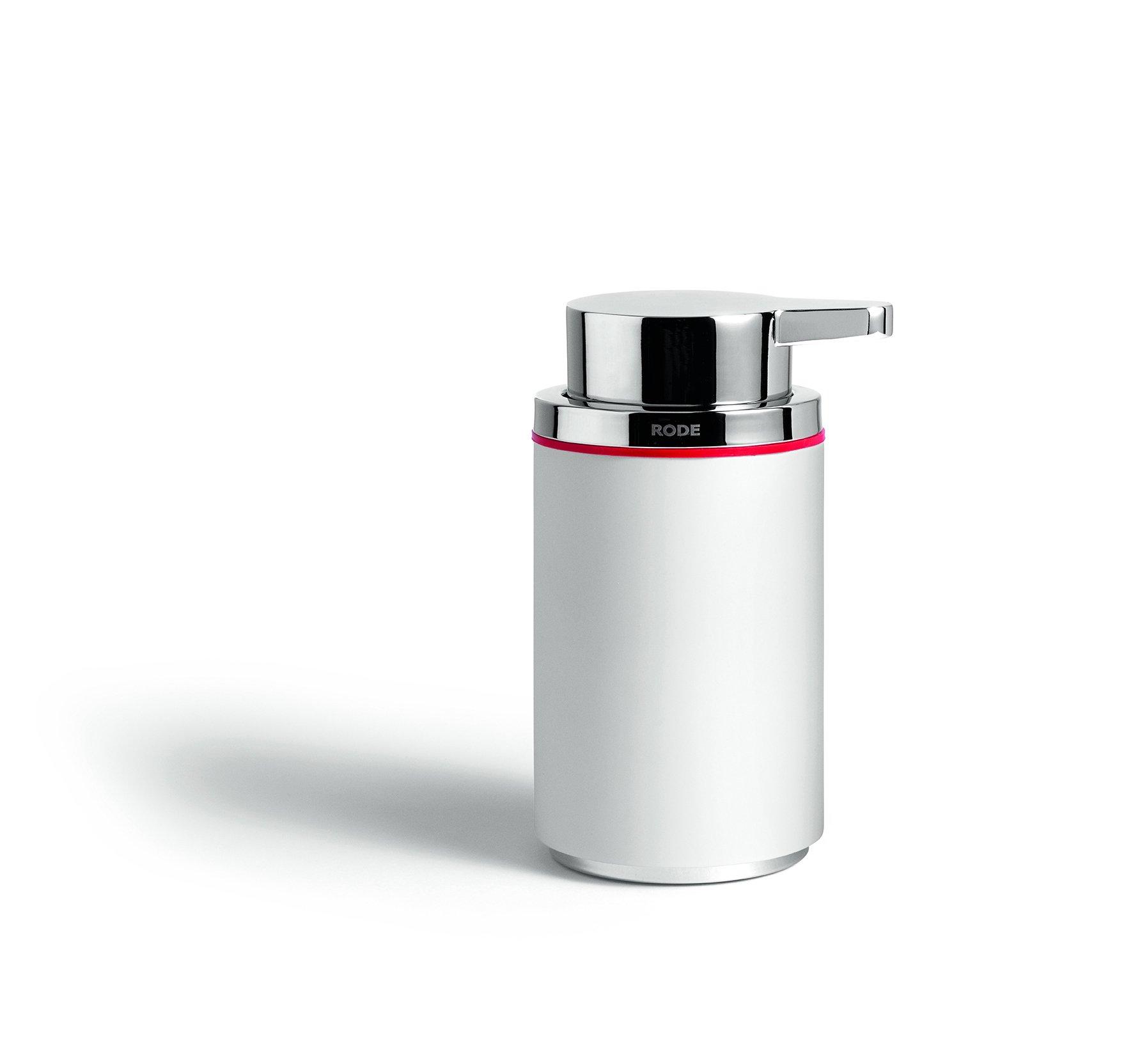 Rode Bath Mafalda Soap Dispenser 250Ml, Colour- White, One Size