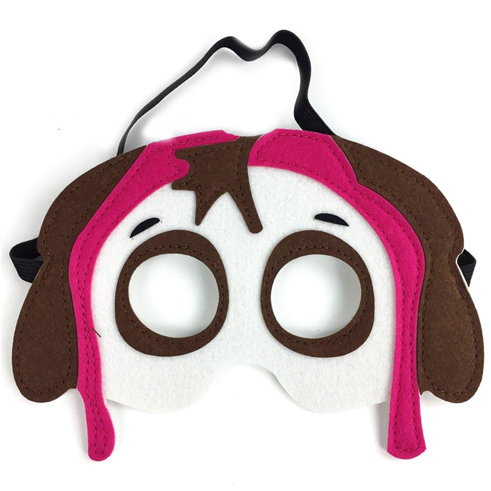 Amazon.com: Juego de 14 máscaras de fieltro para fiesta de ...