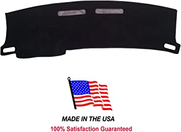 Hex Autoparts Dash Cover Mat Dashboard Pad for 1997-2002 Chevy Camaro Black