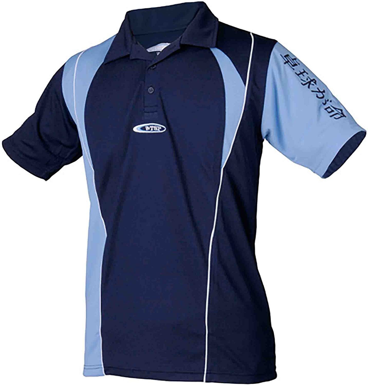 TSP Camisa tsoma (Sky + Marina), Micro de Dry de Fit, Tenis,