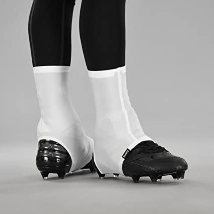 8d1adbd2a44 Amazon.com   Basic White Spats Cleat Covers   Sports   Outdoors