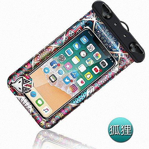 Caso impermeable universal, flotante impermeable de la bolsa del teléfono del teléfono móvil de IPX8 bolso seco para el iPhone X/8/8plus/7/7plus/6s/6/6s más Samsung Galaxy S8/S8 style2