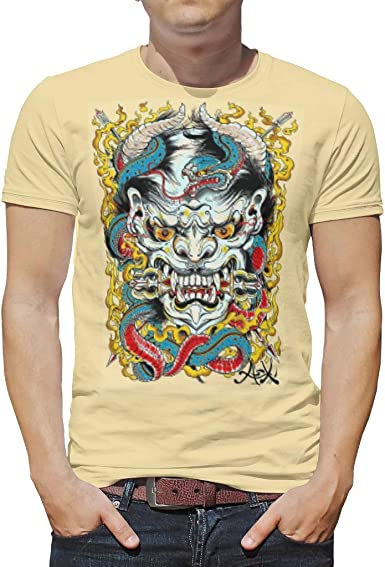 Camisa para Hombre con diseño de Calavera para niños y niñas, de poliéster, aterradora Blanco Blanco 4XL: Amazon.es: Ropa y accesorios