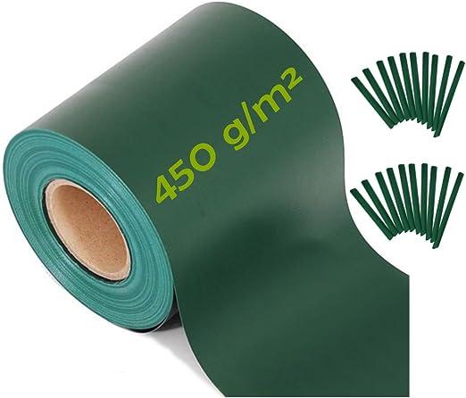 ViewProtect - KOMPAKT - 450 gsm - Bandas de Ocultación Para Verjas de Doble Alambre, Color Verde: Amazon.es: Jardín