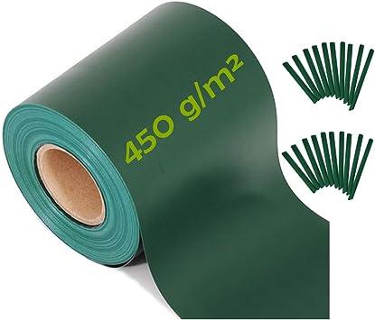 Brise-vue ViewProtect Compact, vert Film de clôture 35 m X ...