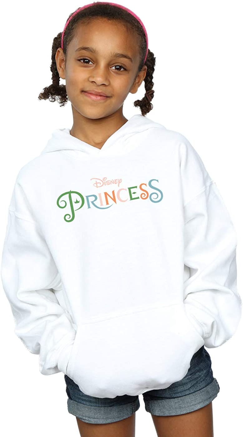 Disney Princess Girls Colour Logo Hoodie