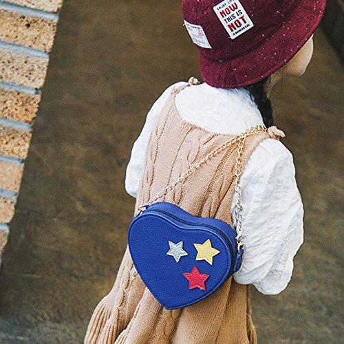 del Majome bolso de pentáculo Bolso moda cadena mano de de Crossbody del muchacha Pequeño de Bolso del bolso la de bolso Azul rqrxwtSaR