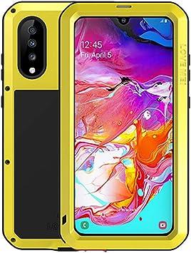 Fonrest Impermeable Funda para Samsung Galaxy A70(6,7-pulgada ...